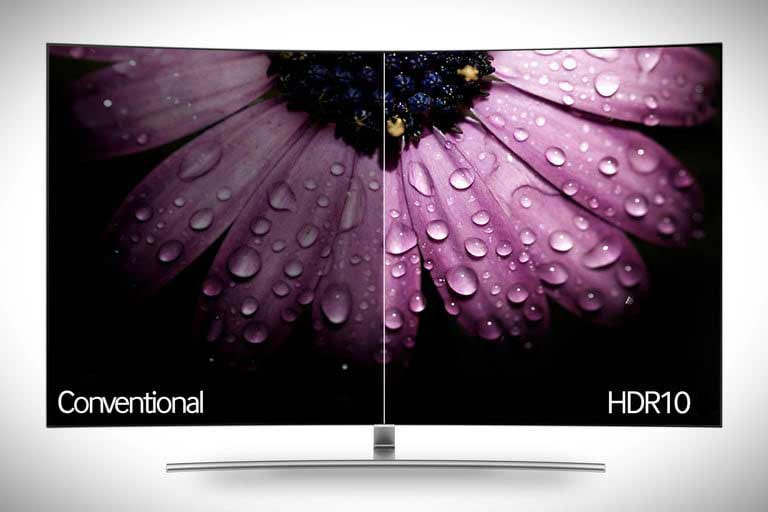 hdr effect on a tv