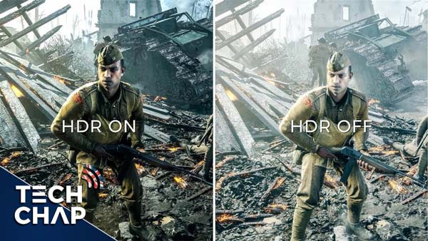 hdr on vs hdr off